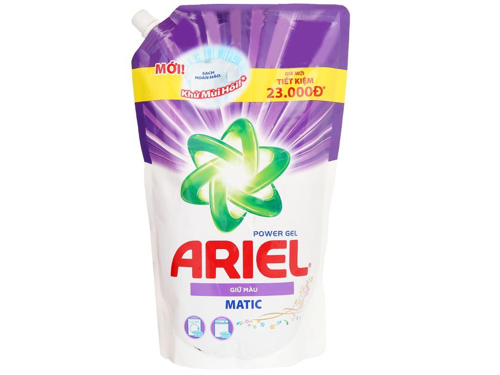 Nước giặt Ariel Matic giữ màu túi 1.2 lít 1