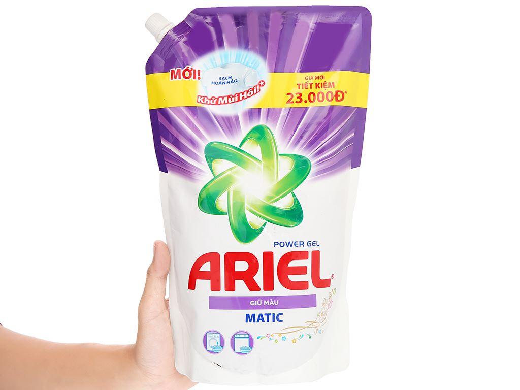Nước giặt Ariel Matic giữ màu túi 1.2 lít 5