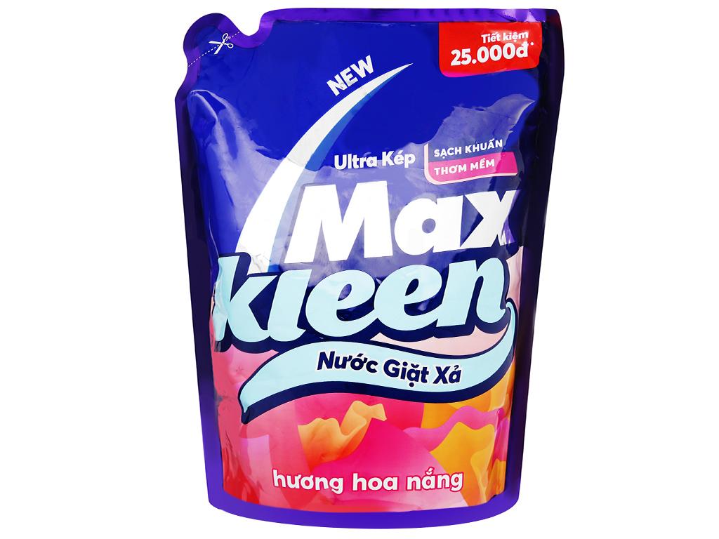 Nước giặt xả MaxKleen hương hoa nắng túi 2.4kg 1