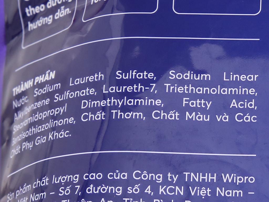 Nước giặt xả MaxKleen hương nước hoa túi 2.4kg 4