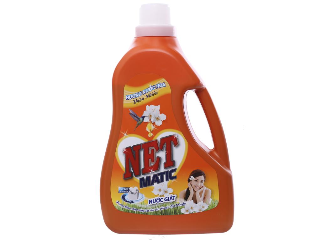 Nước giặt NET Matic hương nước hoa thiên nhiên 3.45 lít 1