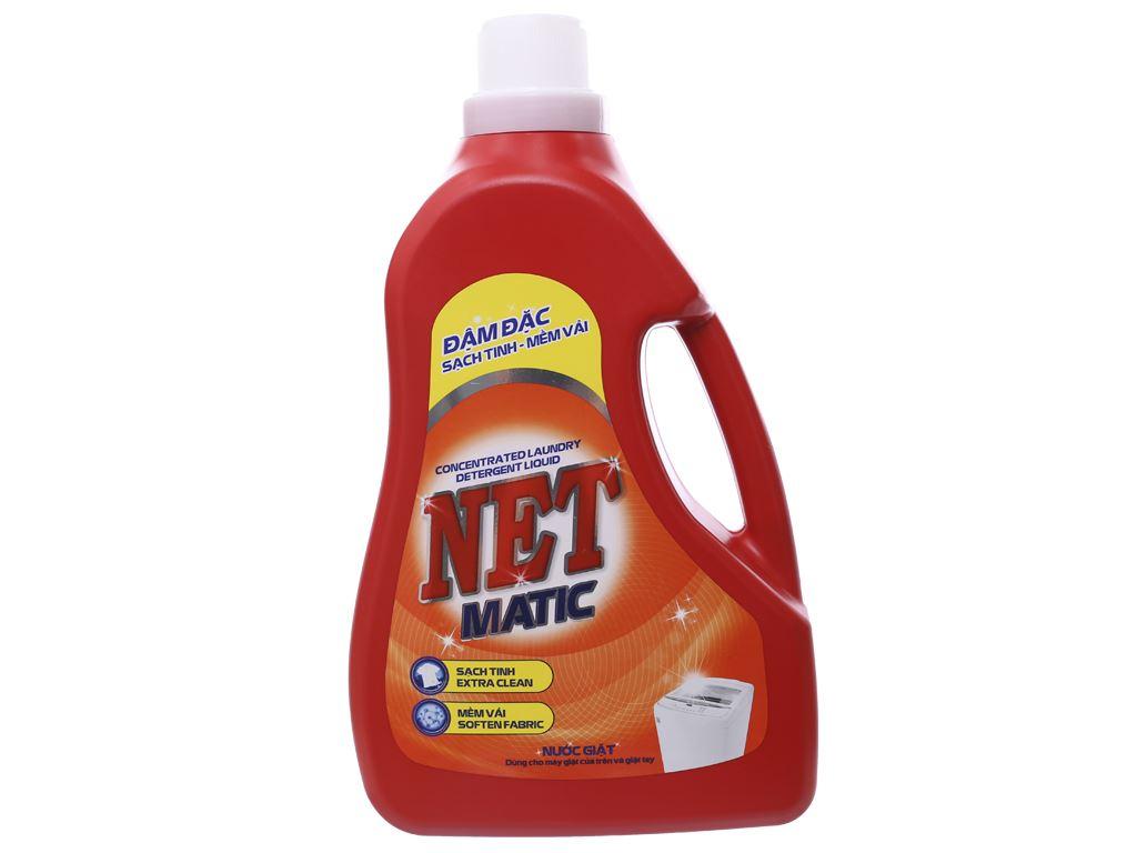 Nước giặt NET Matic chai 3.6kg 1