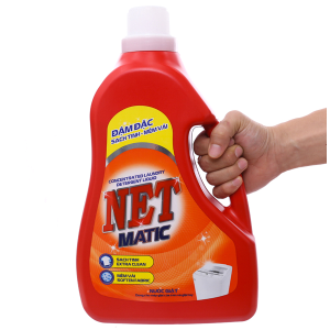 Nước giặt NET Matic chai 3.6kg