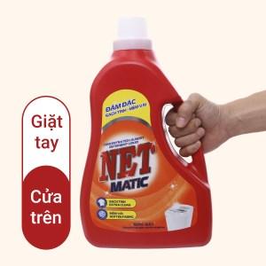 Nước giặt NET Matic đậm đặc 3.45 lít