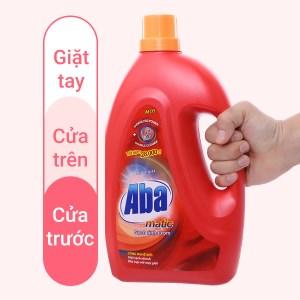 Nước giặt Aba Matic đỏ chai 2.65 lít