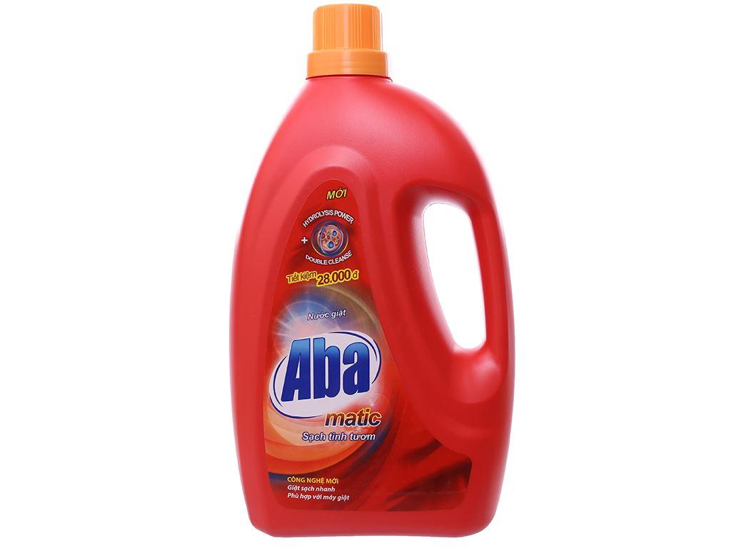 Nước giặt Aba Matic đỏ 2.65 lít 1