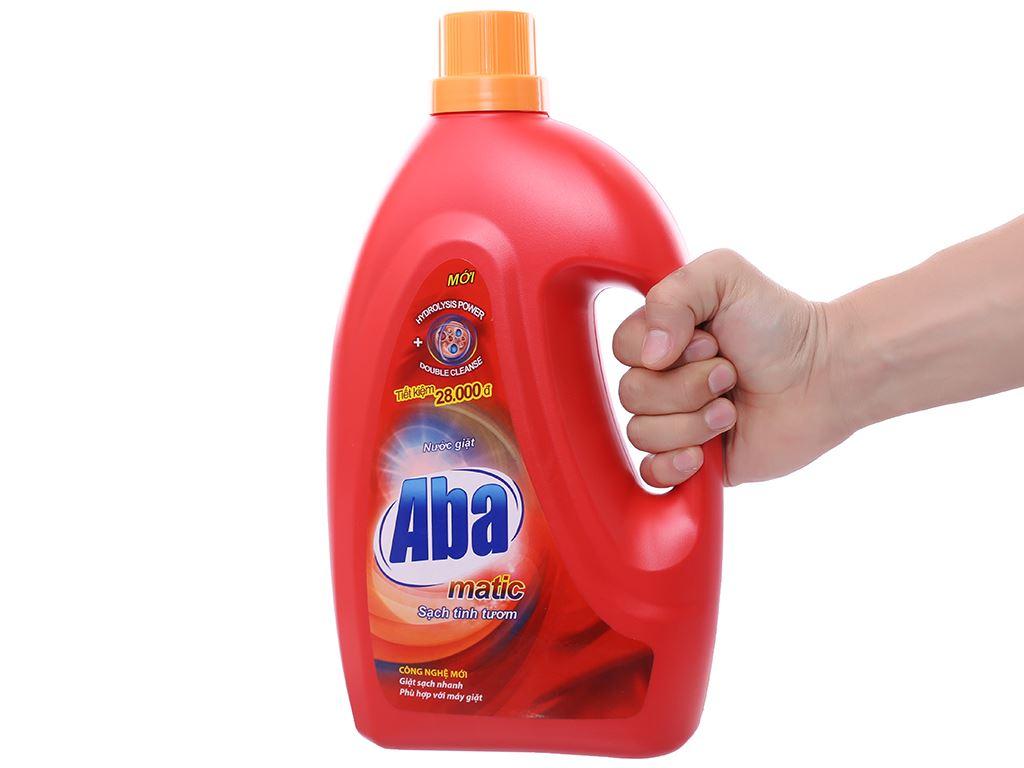 Nước giặt Aba Matic đỏ 2.65 lít 3