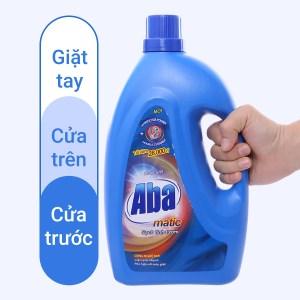 Nước giặt Aba Matic xanh 2.65 lít
