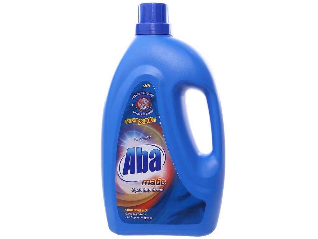 Nước giặt Aba Matic xanh 2.65 lít 1