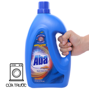 Nước giặt Aba Matic xanh chai 2.75kg