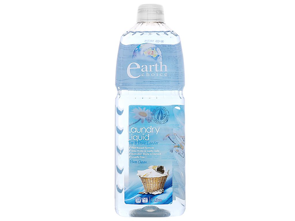 Nước giặt Earth Choice Pure Clean 1 lít 1