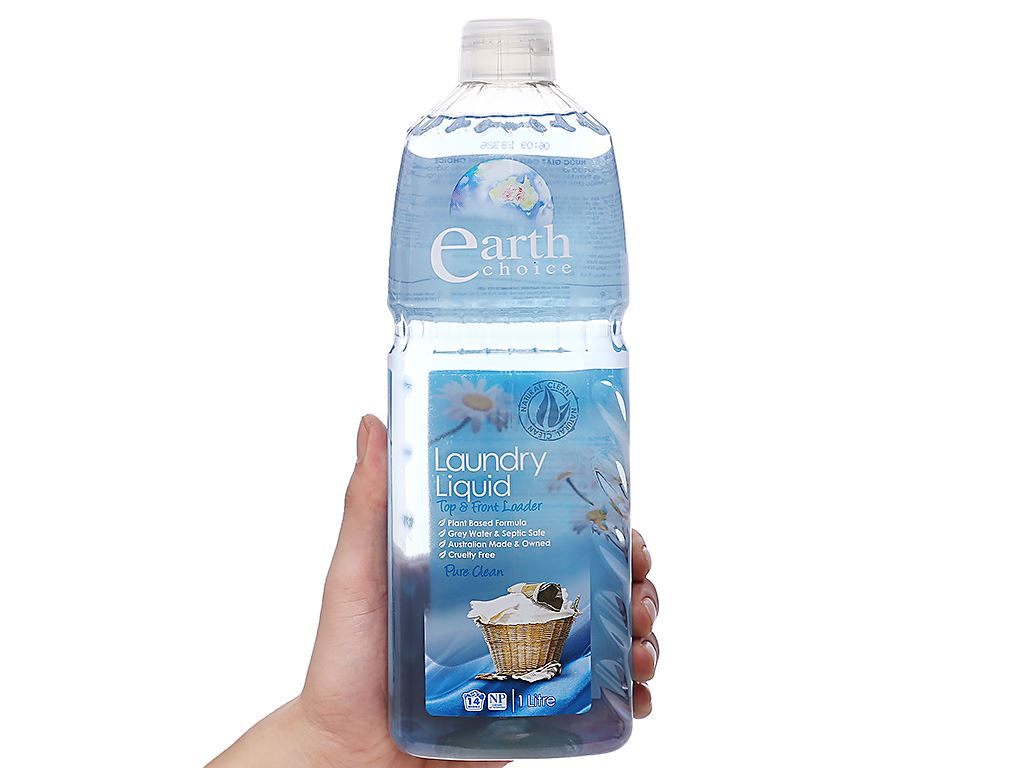Nước giặt Earth Choice Pure Clean 1 lít 3
