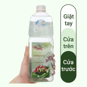 Nước giặt Earth Choice dành cho vải cao cấp hương tinh dầu bạch đàn 1 lít