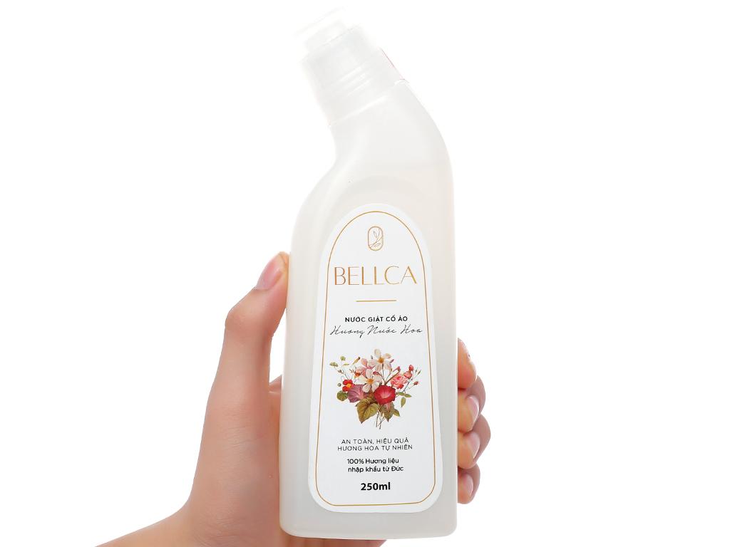 Nước giặt cổ áo Bellca hương nước hoa chai 250ml 3