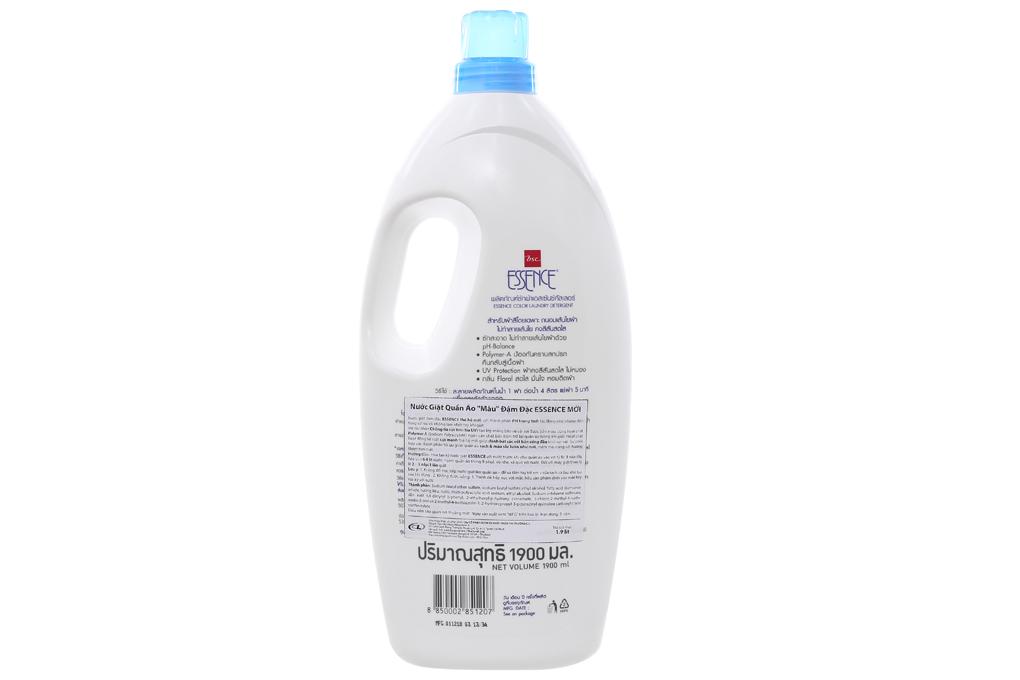 Nước giặt Essence Color đậm đặc 1.9 lít 2