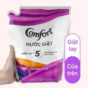 Nước giặt Comfort chống lão hóa hương thanh lịch túi 2.3 lít