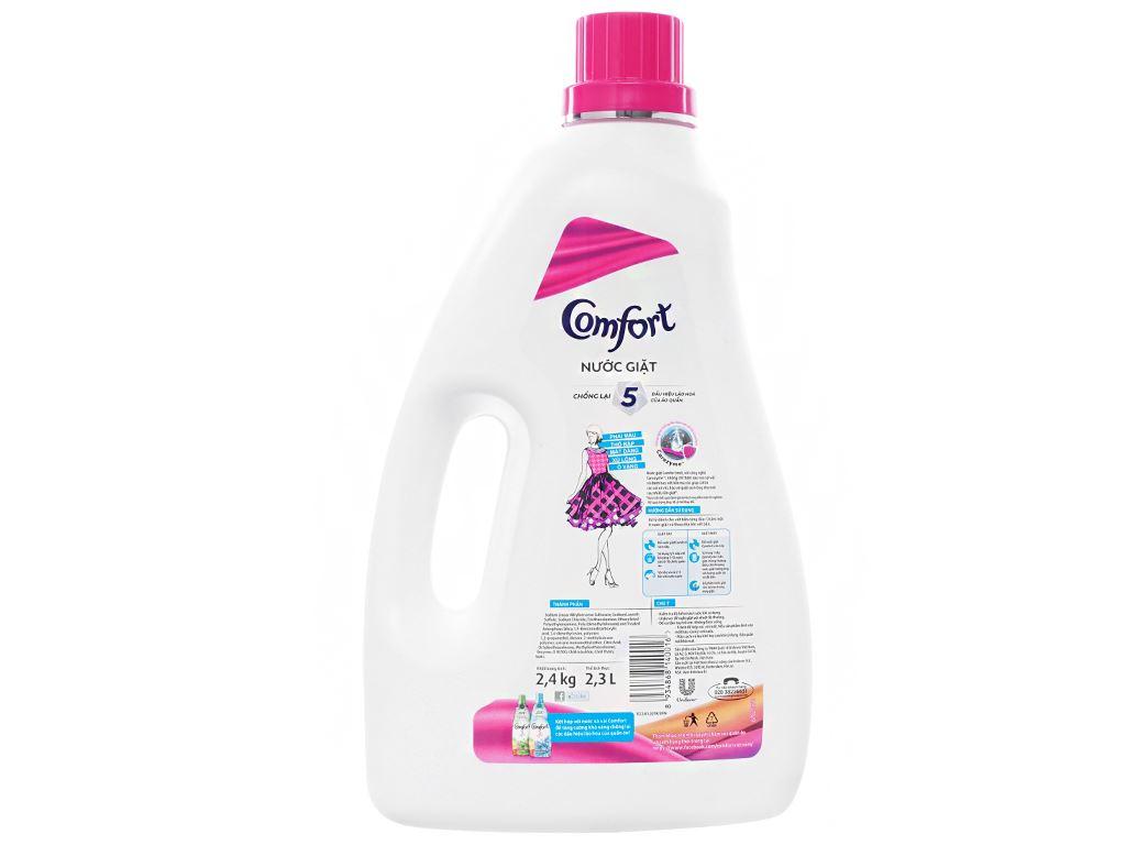 Nước giặt Comfort chống lão hóa hương thanh lịch chai 2.3 lít 2