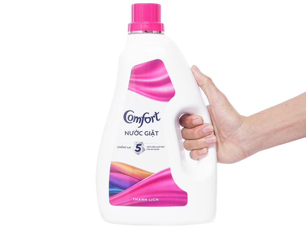 Nước giặt Comfort chống lão hóa hương thanh lịch chai 2.3 lít 4