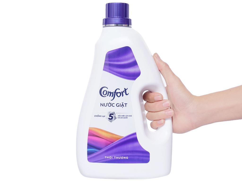 Nước giặt Comfort chống lão hóa hương thời thượng chai 2.3 lít 4