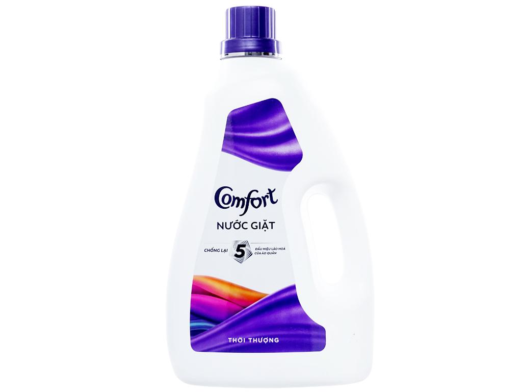 Nước giặt Comfort chống lão hóa hương thời thượng chai 2.3 lít 1