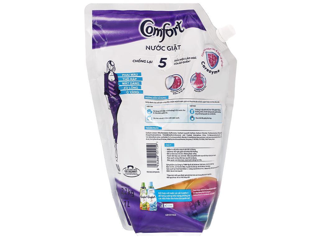 Nước giặt Comfort chống lão hóa hương thời thượng 2.3 lít 2