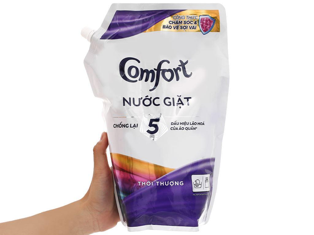 Nước giặt Comfort chống lão hóa hương thời thượng 2.3 lít 4