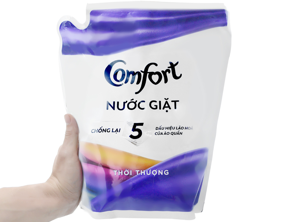 Nước giặt Comfort chống lão hóa hương thời thượng túi 2.3 lít 3