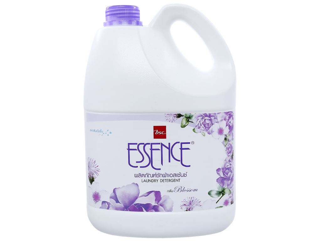 Nước giặt Essence khử mùi ẩm mốc hương blossom can (bình) 3.5 lít 1