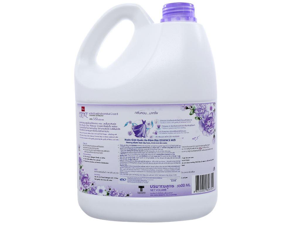 Nước giặt Essence khử mùi ẩm mốc hương blossom can (bình) 3.5 lít 2