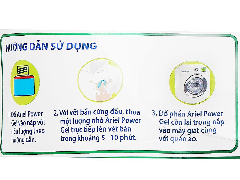 Nước giặt Ariel Matic cửa trước tươi mát rực rỡ túi 2.3 lít 3