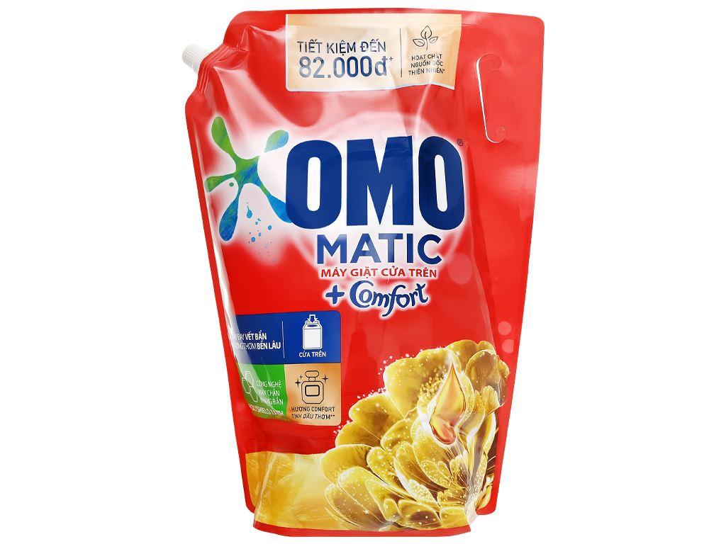 Nước giặt OMO Matic Comfort tinh dầu thơm túi 3.55 lít 2