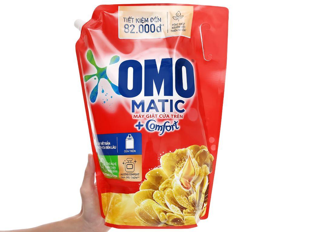 Nước giặt OMO Matic Comfort tinh dầu thơm túi 3.55 lít 6
