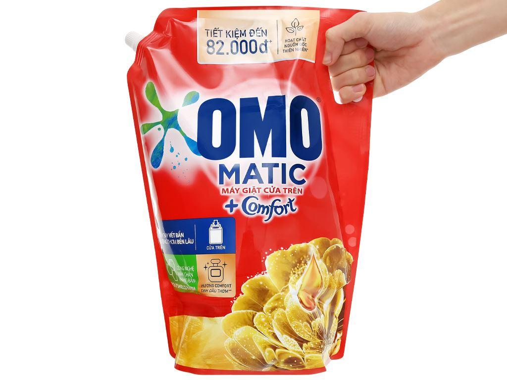 Nước giặt OMO Matic Comfort tinh dầu thơm túi 3.55 lít 7
