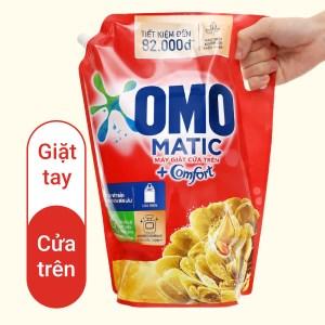 Nước giặt OMO Matic Comfort tinh dầu thơm túi 3.55 lít