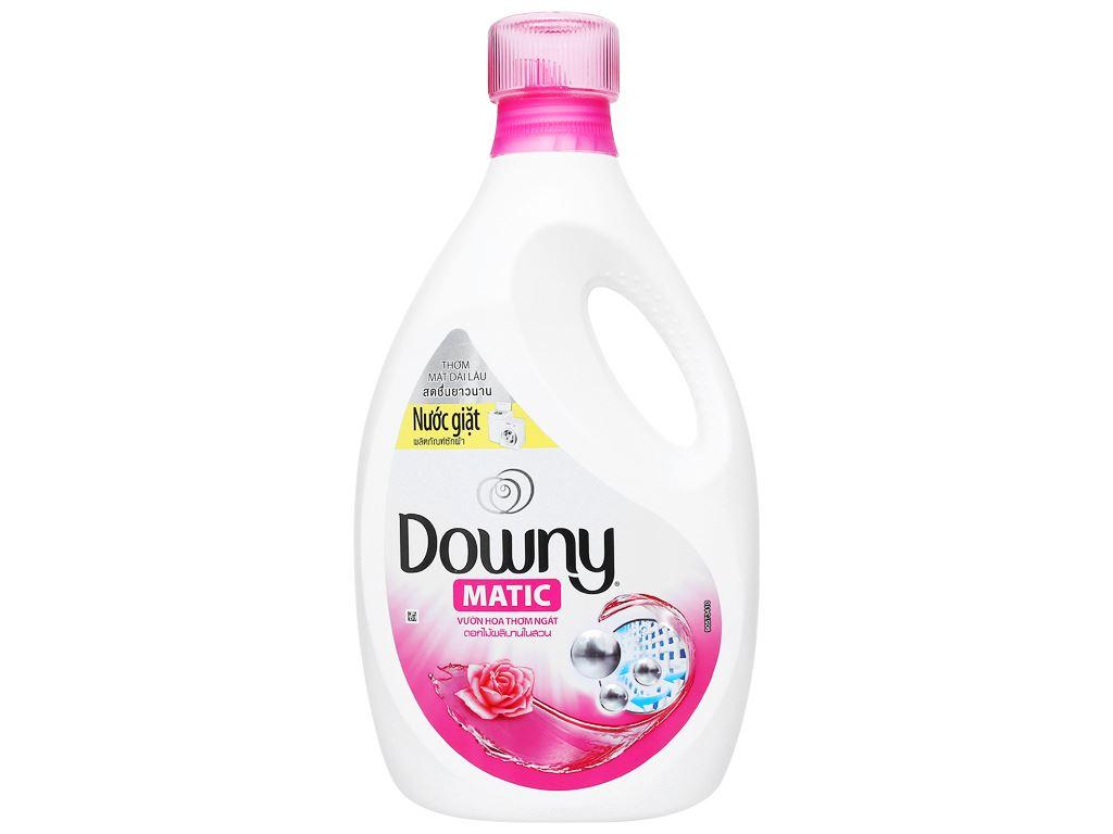 Nước giặt Downy Matic vườn hoa thơm ngát chai 2.3 lít 1