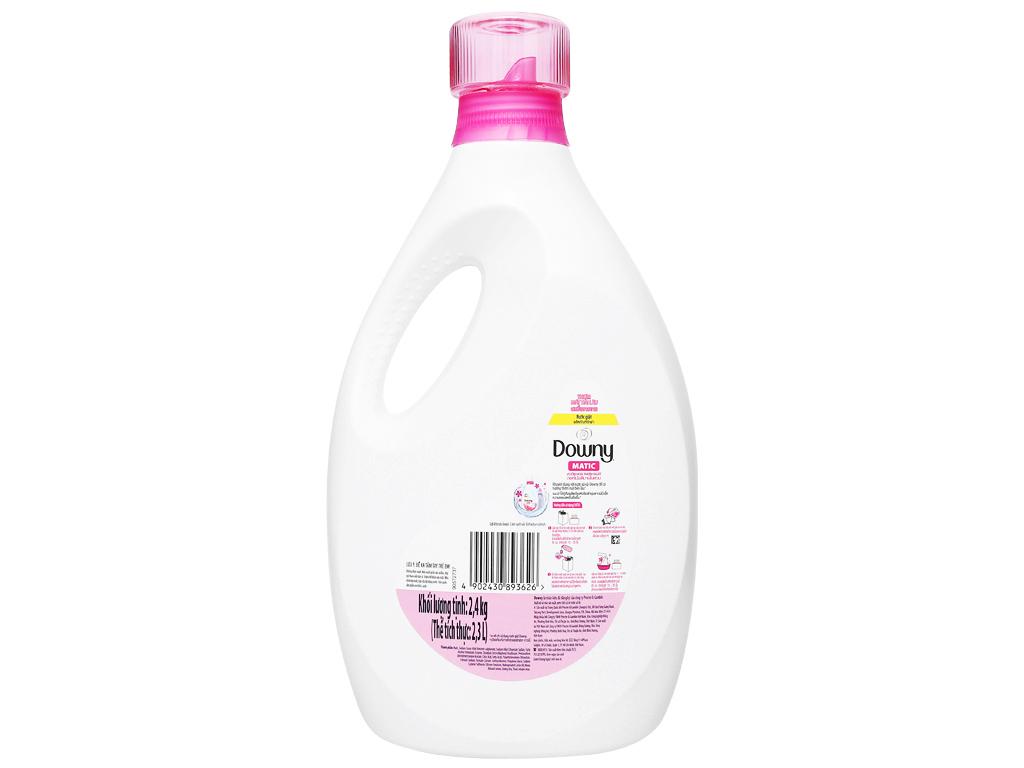 Nước giặt Downy Matic vườn hoa thơm ngát chai 2.3 lít 2