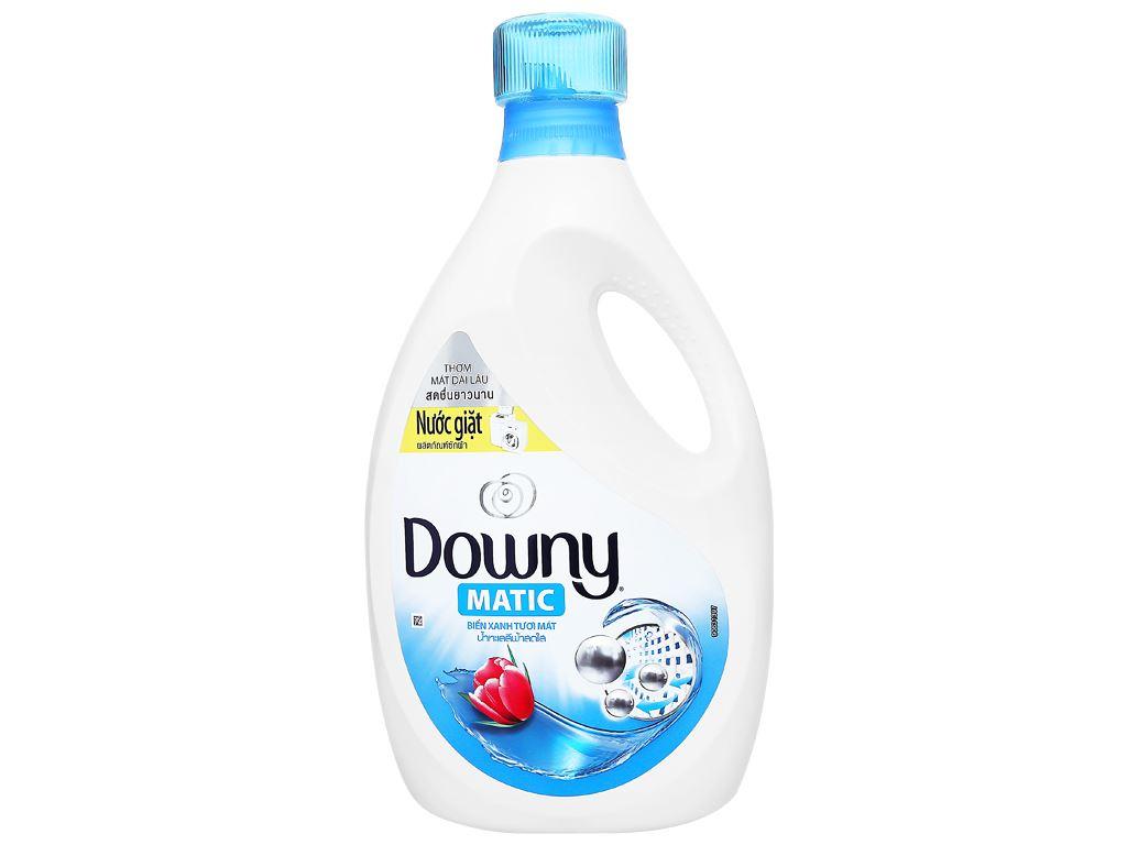 Nước giặt Downy Matic biển xanh tươi mát chai 2.3 lít 1