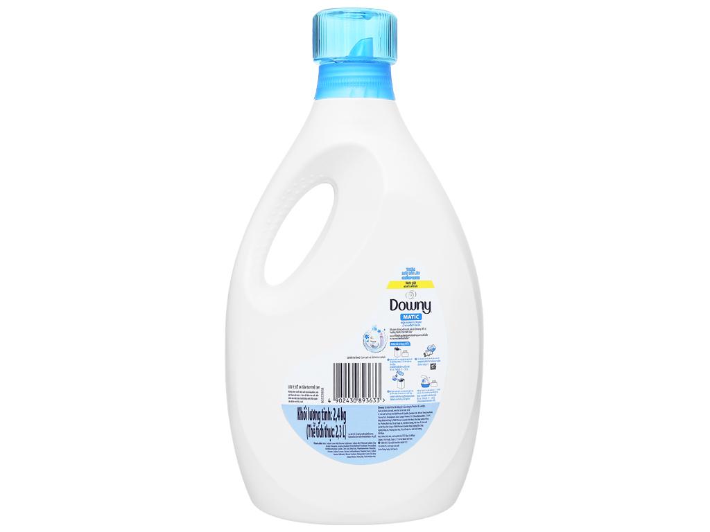 Nước giặt Downy Matic biển xanh tươi mát chai 2.3 lít 2