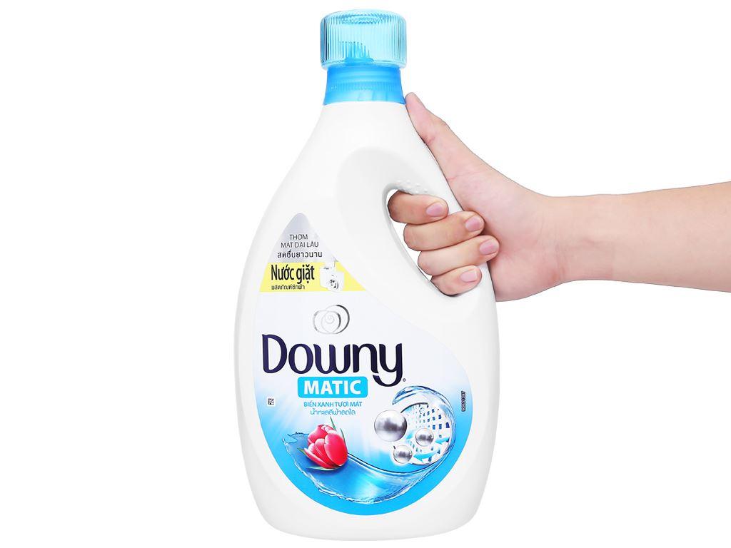 Nước giặt Downy Matic biển xanh tươi mát chai 2.3 lít 4