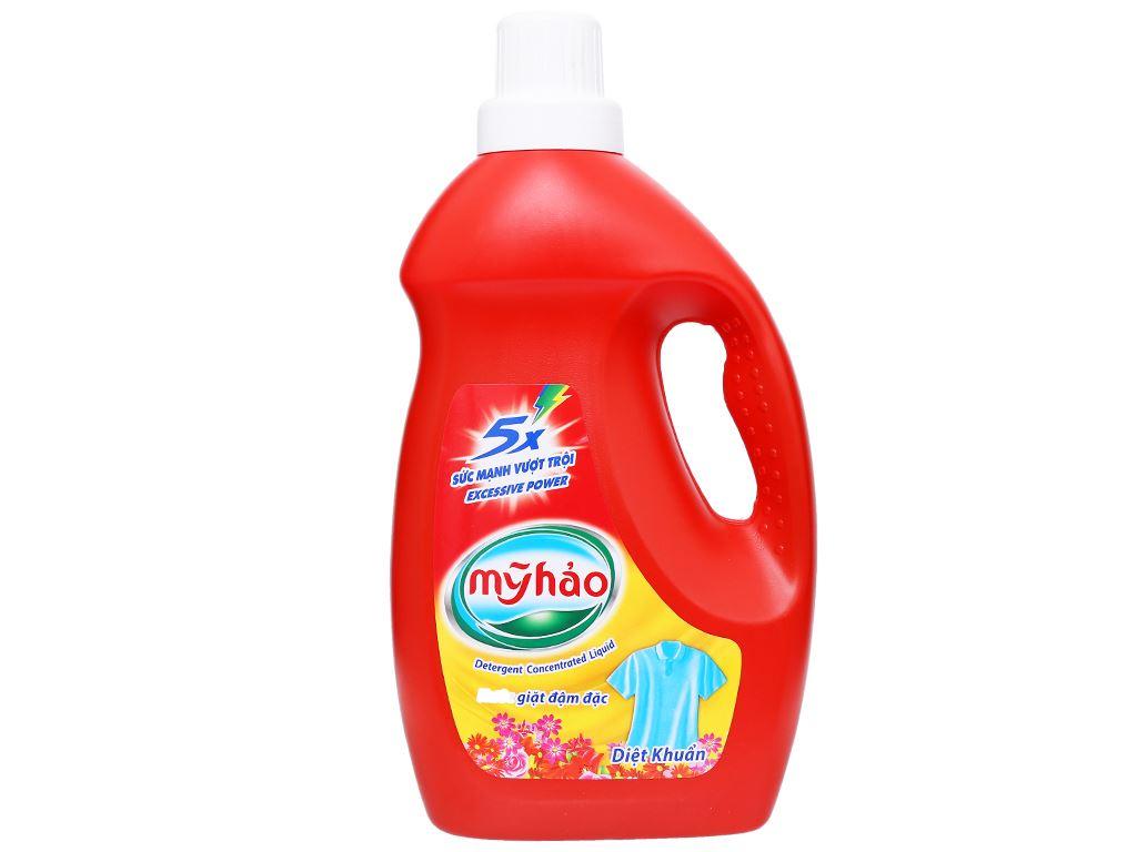 Nước giặt Mỹ Hảo diệt khuẩn chai 1.8kg 1