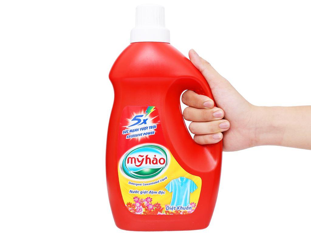 Nước giặt Mỹ Hảo diệt khuẩn chai 1.8kg 5