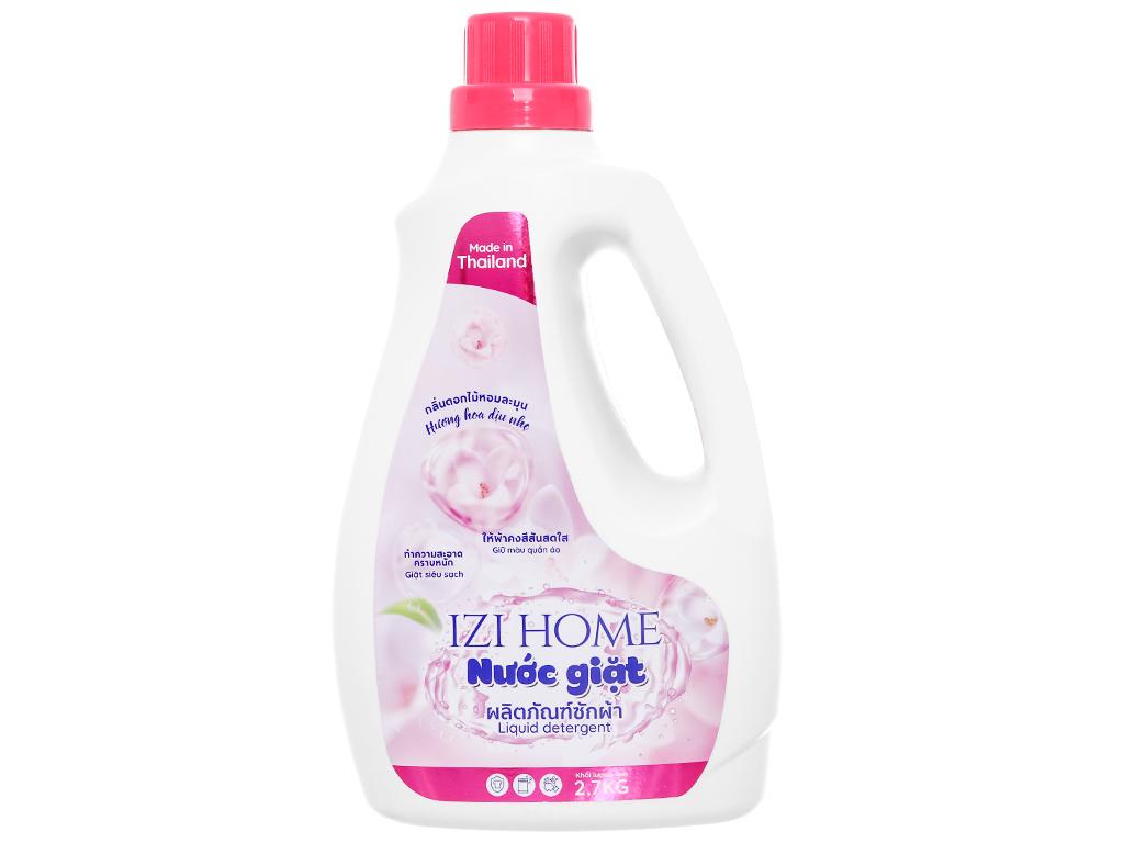 Nước giặt IZI HOME hương hoa dịu nhẹ chai 2.6 lít 1