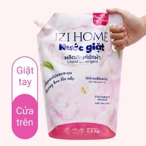 Nước giặt IZI HOME hương hoa dịu nhẹ túi 2.3 lít