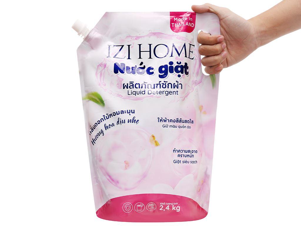 Nước giặt IZI HOME hương hoa dịu nhẹ túi 2.3 lít 5