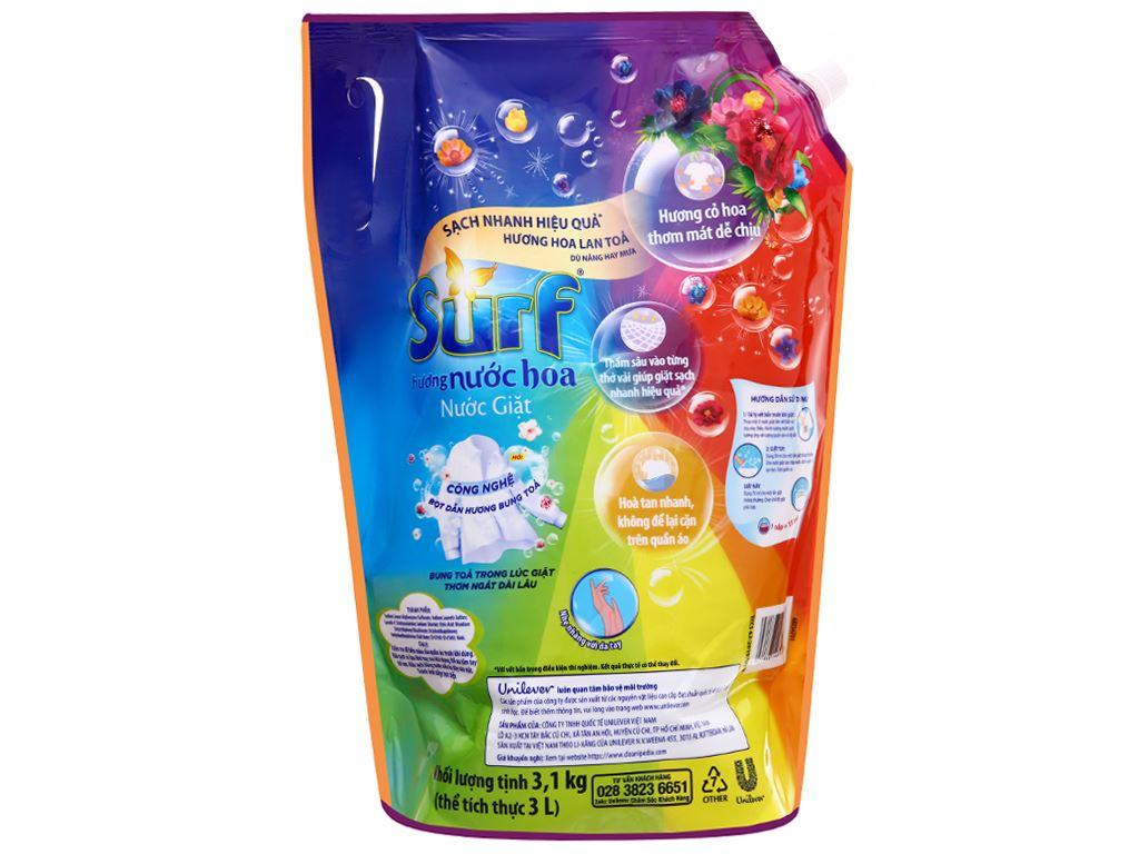Nước giặt Surf hương nước hoa túi 3 lít 2