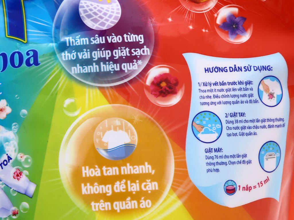 Nước giặt Surf hương nước hoa túi 3 lít 5