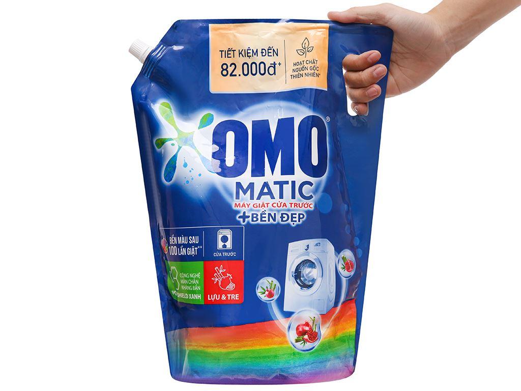 Nước giặt OMO Matic bền đẹp cửa trước lựu và tre 3.5 lít 7