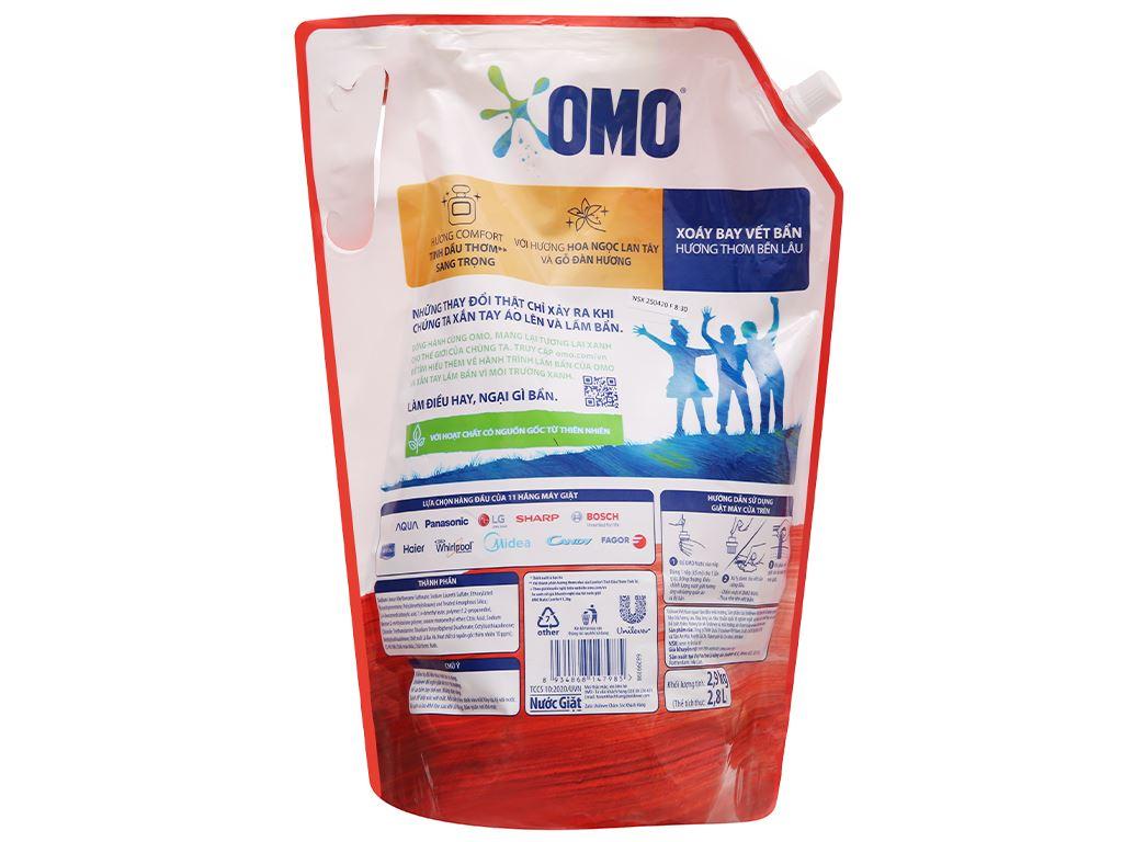 Nước giặt OMO Comfort tinh dầu thơm 2.8 lít 2