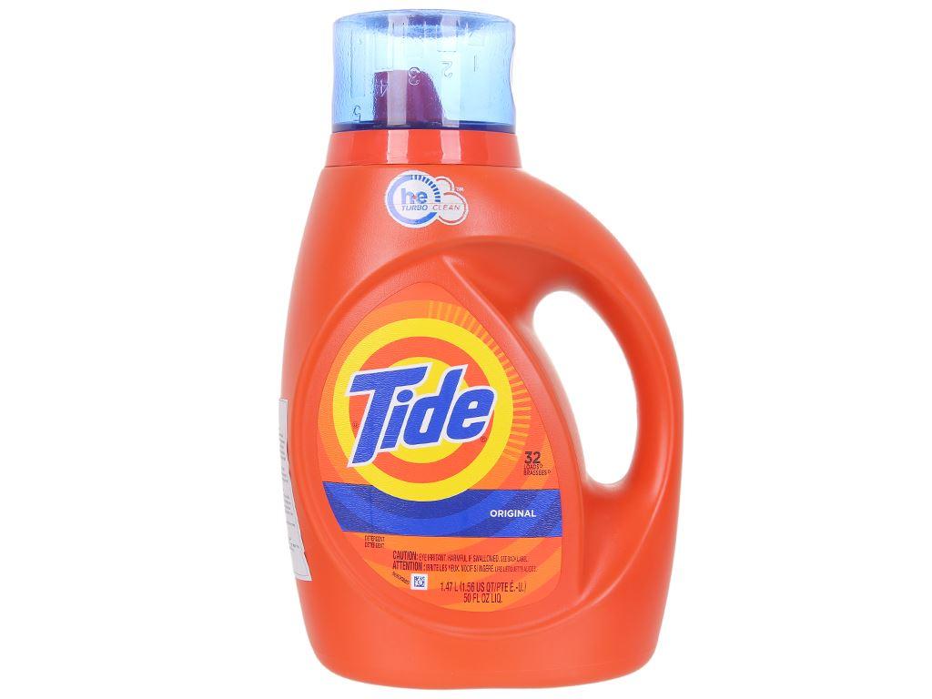 Nước giặt Tide Original 1.47 lít 1