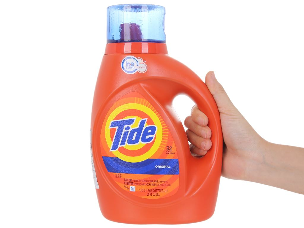 Nước giặt Tide Original 1.47 lít 4